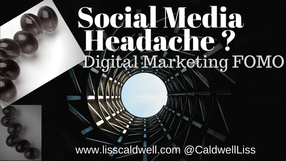 Social Media FOMO Headache