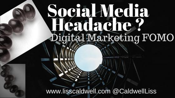 Social Media FOMO Headache