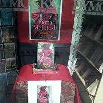 Author Liss Caldwell Adelaide Dymocks Tapestry Fiona McIntosh books